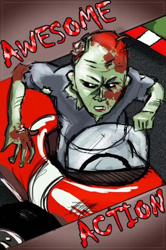 殭屍行動 賽車 - 最佳兒童遊戲