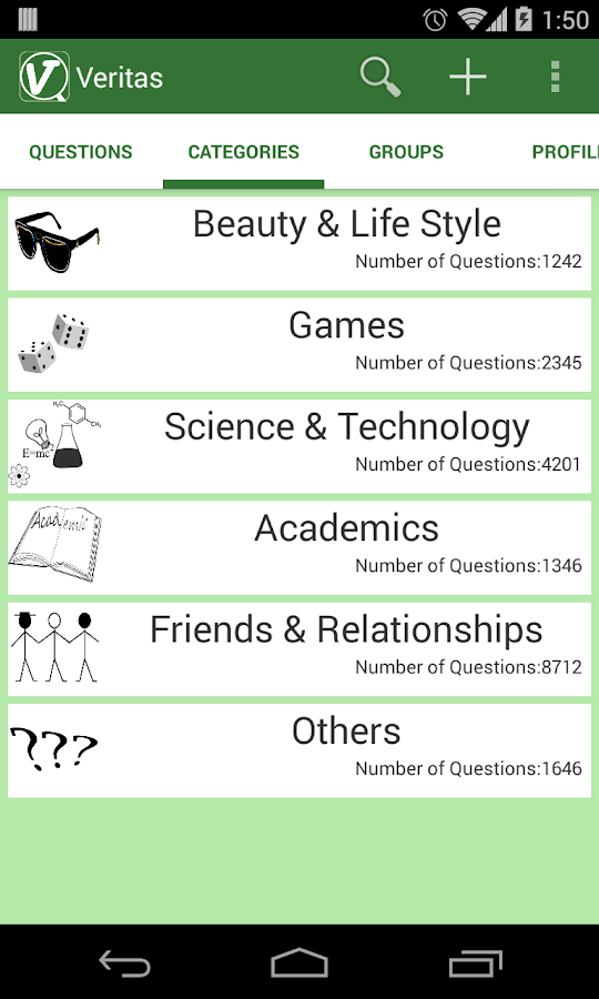 Veritas - All-new Q&A Platform - screenshot