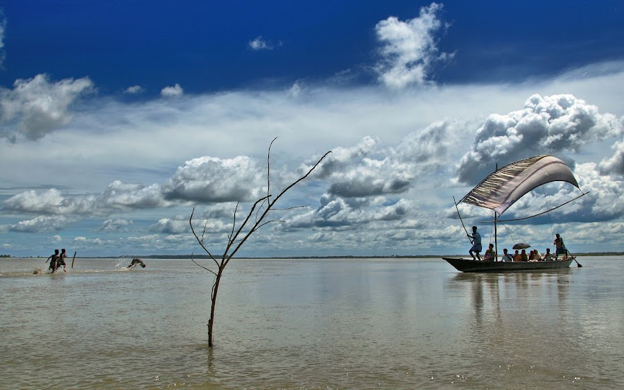 A DAY ON TISTA by Sujan Sarkar - Landscapes Travel ( adventure, water., environment, color, beauty )