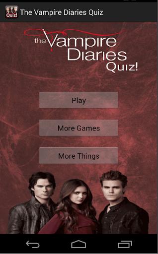 The Vampire Diaries Quiz