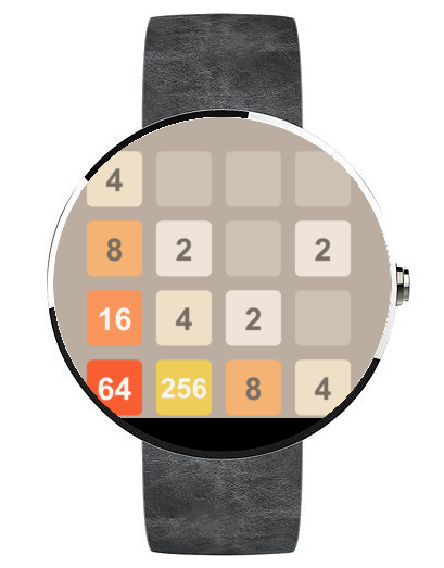2048 - Android Wear- screenshot