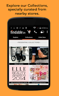 Findable: Home Delivery App - screenshot thumbnail