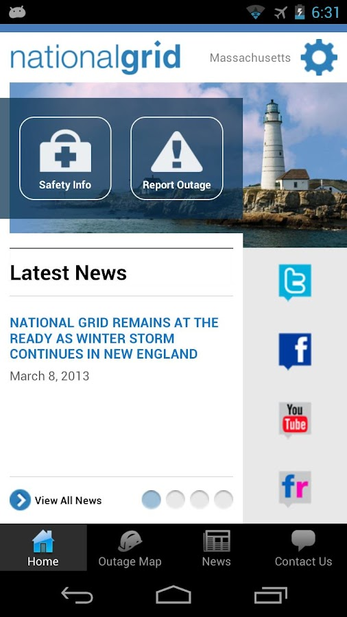 National Grid - screenshot