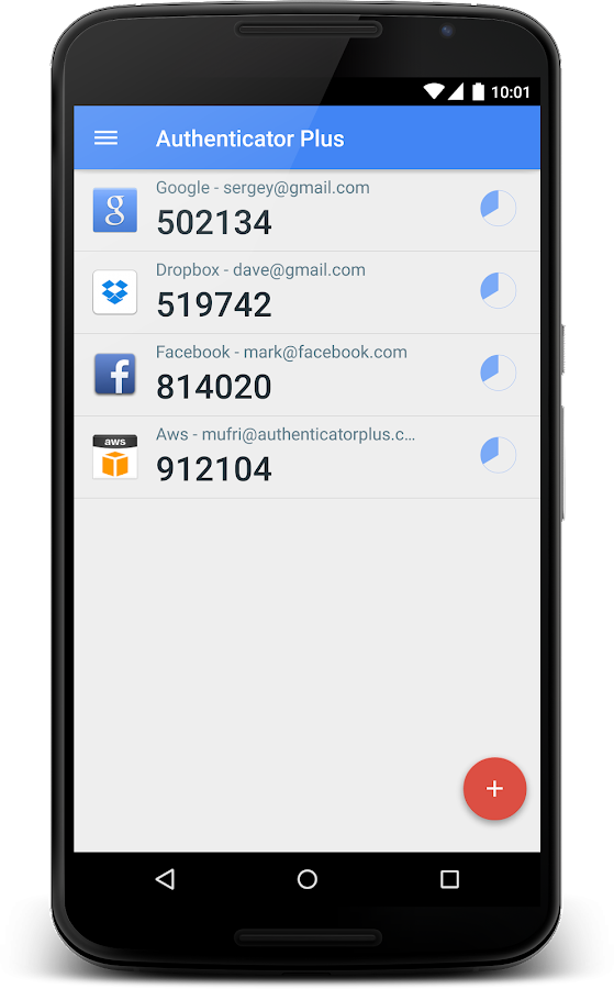 Authenticator Plus- screenshot