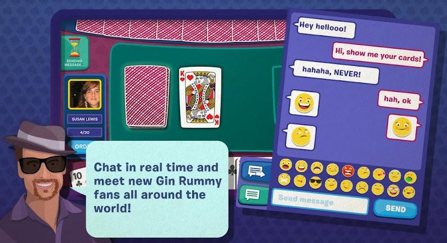 Gin Rummy Blyts Screenshot