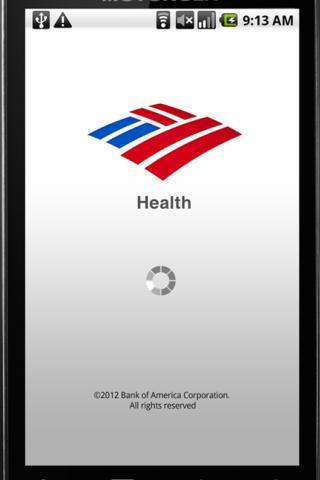 BofA Health - screenshot