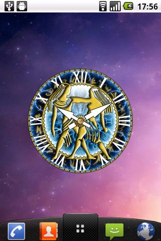 zZodiac Gemini clock! - screenshot