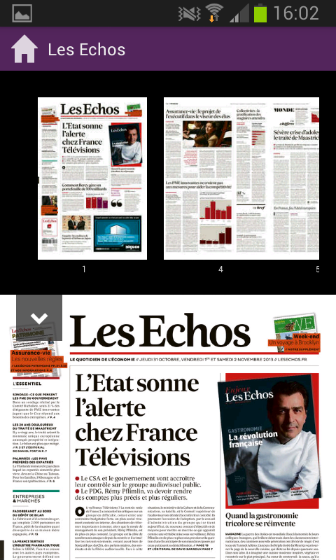 ePresse - screenshot