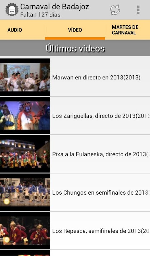 Carnaval de Badajoz- screenshot