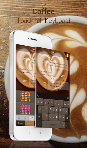 Coffee Keyboard Theme
