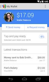 Google Wallet Screenshot 1