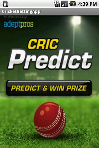 CricPredict- screenshot