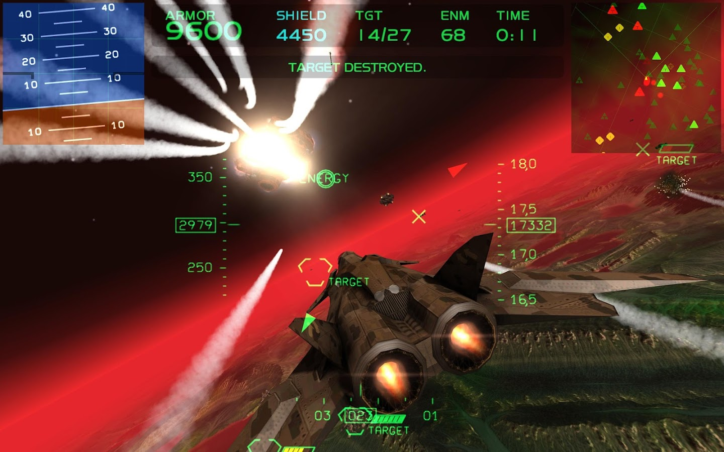 Fractal Combat X - screenshot