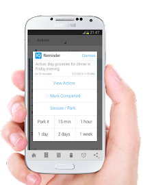 IQTELL Email app and GTD® Screenshot 6