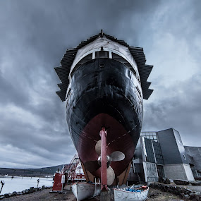 MS Finnmarken by Benny Høynes - Buildings & Architecture Public & Historical ( finnmarken, monument, museum, boat, norway )