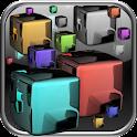 Glow Cubes HD Live Wallpaper icon