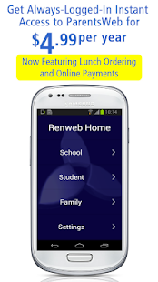 RenWeb Home- screenshot thumbnail