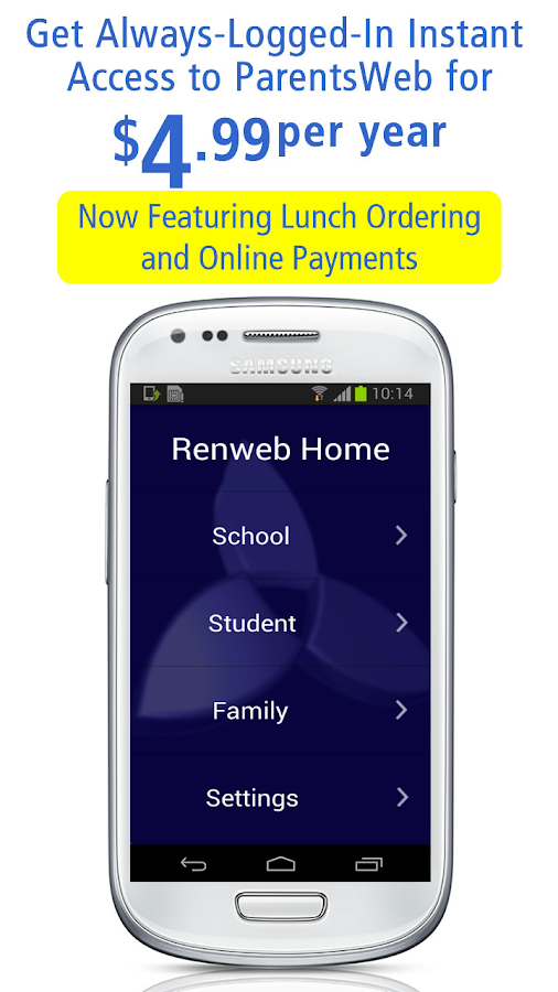 RenWeb Home- screenshot