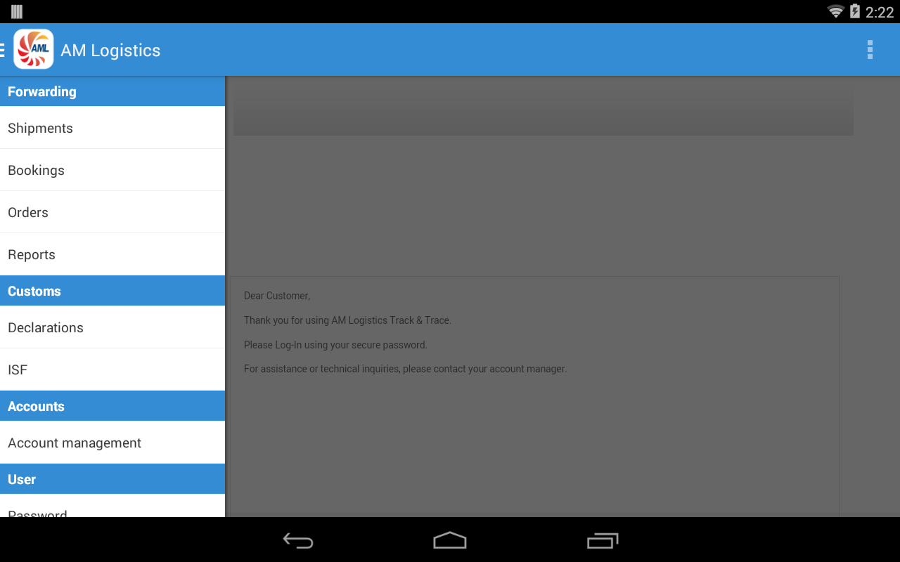 AM Logistics Cargo Tracking - Android Apps on Google Play