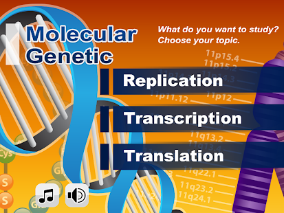 Biology Molecular Genetics L- screenshot thumbnail
