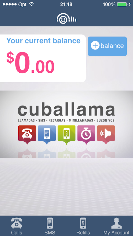Cuballama- screenshot