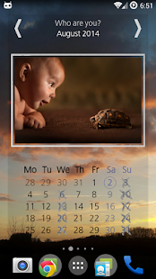 Picture Wall Calendar Widget - screenshot thumbnail