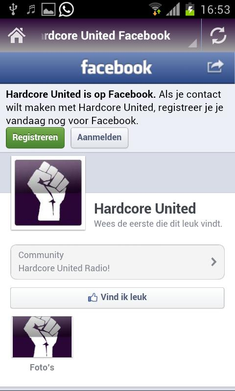 Hardcore United- screenshot