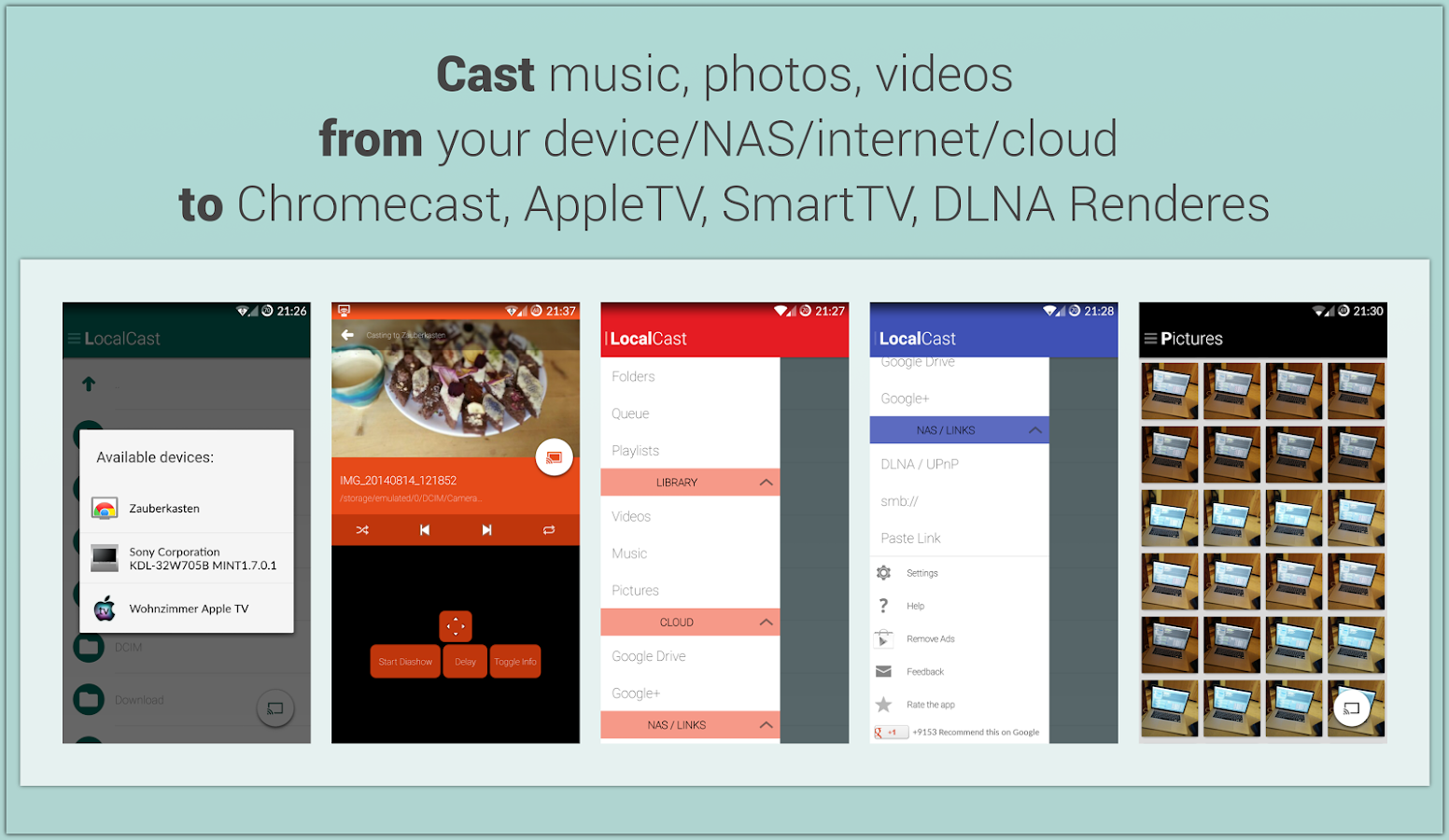 LocalCast for Chromecast/DLNA - screenshot