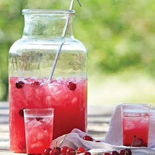 Sour Cherry Lemonade.