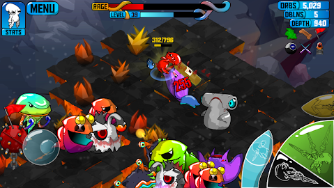 Quadropus Rampage Screenshot 3
