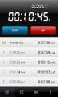 Screenshot of Krono Stopwatch & Timer