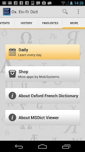 Oxford French Dictionary - screenshot thumbnail