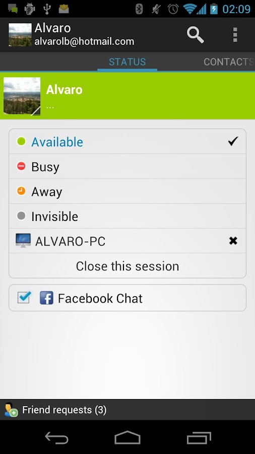 Talkdroid Messenger - screenshot