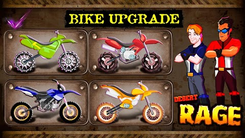 Desert Rage - Bike Racing Game Screenshot 3