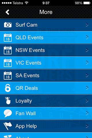Australian Surf Rowers League- screenshot