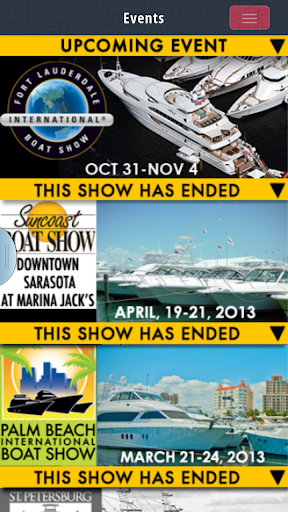 My Boat Show Events