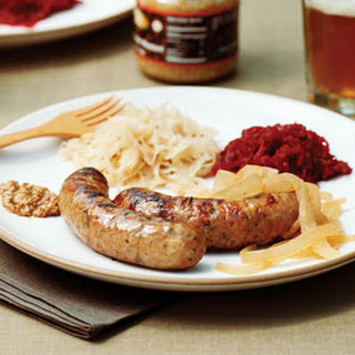Grilled Beer-cooked Sausages