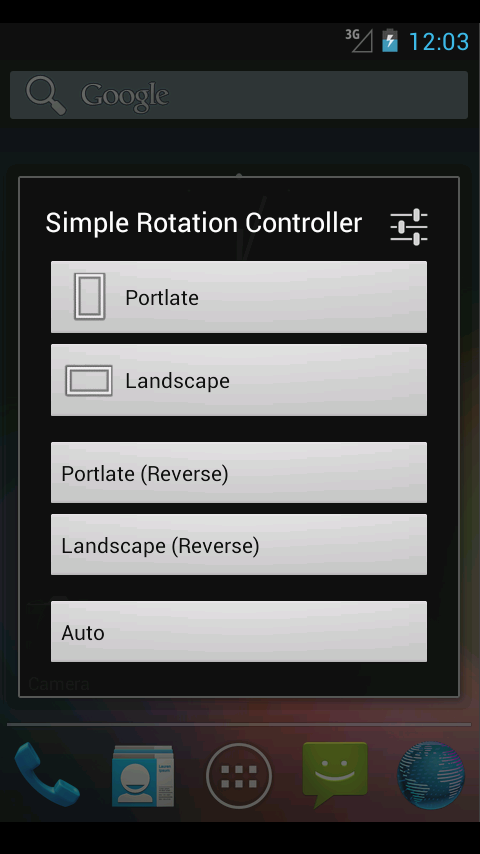 Simple Rotation Controller- screenshot