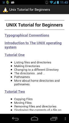 Unix Tutorial for Beginners