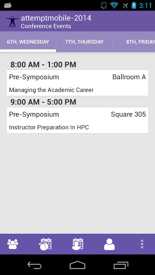 CONNECT conferences Mobile- screenshot