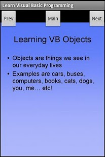 Learn Visual Basic Programming - screenshot thumbnail