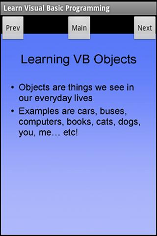 Learn Visual Basic Programming- screenshot