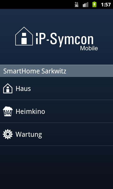 IP-Symcon Mobile (deprecated) - screenshot