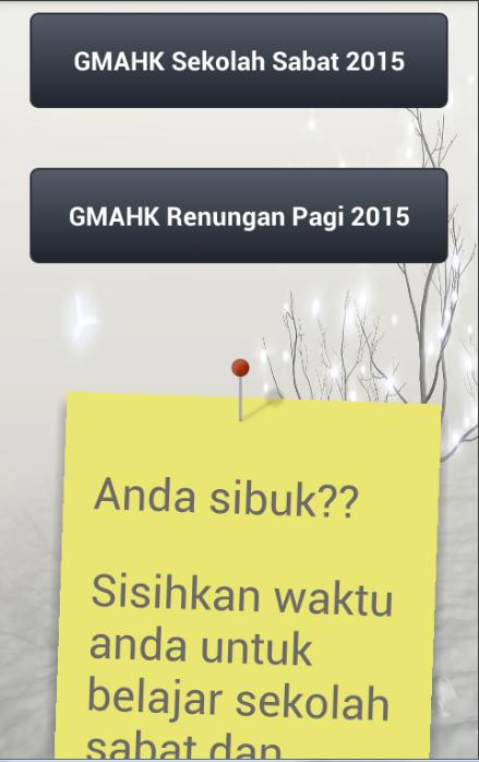 GMAHK - Sekolah Sabat - screenshot