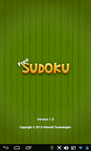 Free Sudoku - screenshot thumbnail