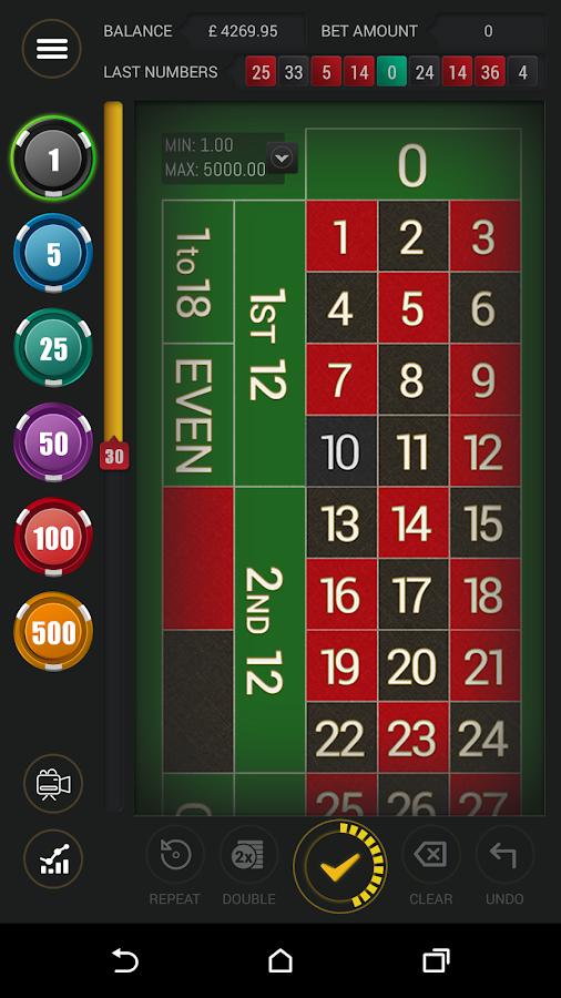 Live Roulette - screenshot
