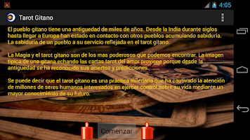 Screenshot of Tarot Gitano - Gratis