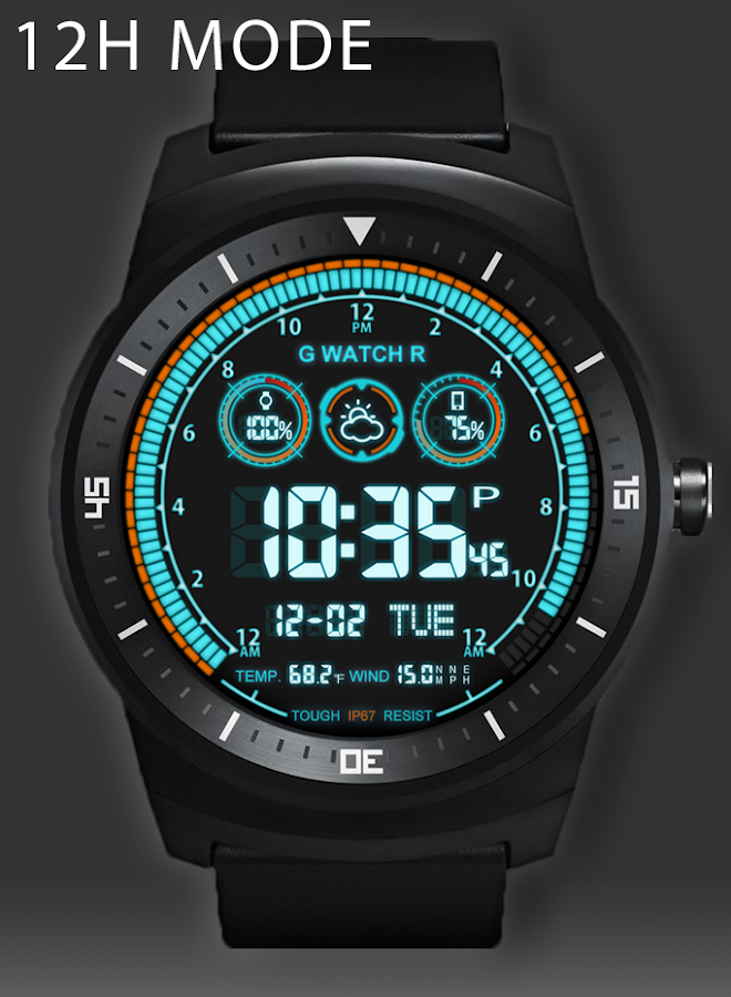 V03 WatchFace for Android Wear- screenshot