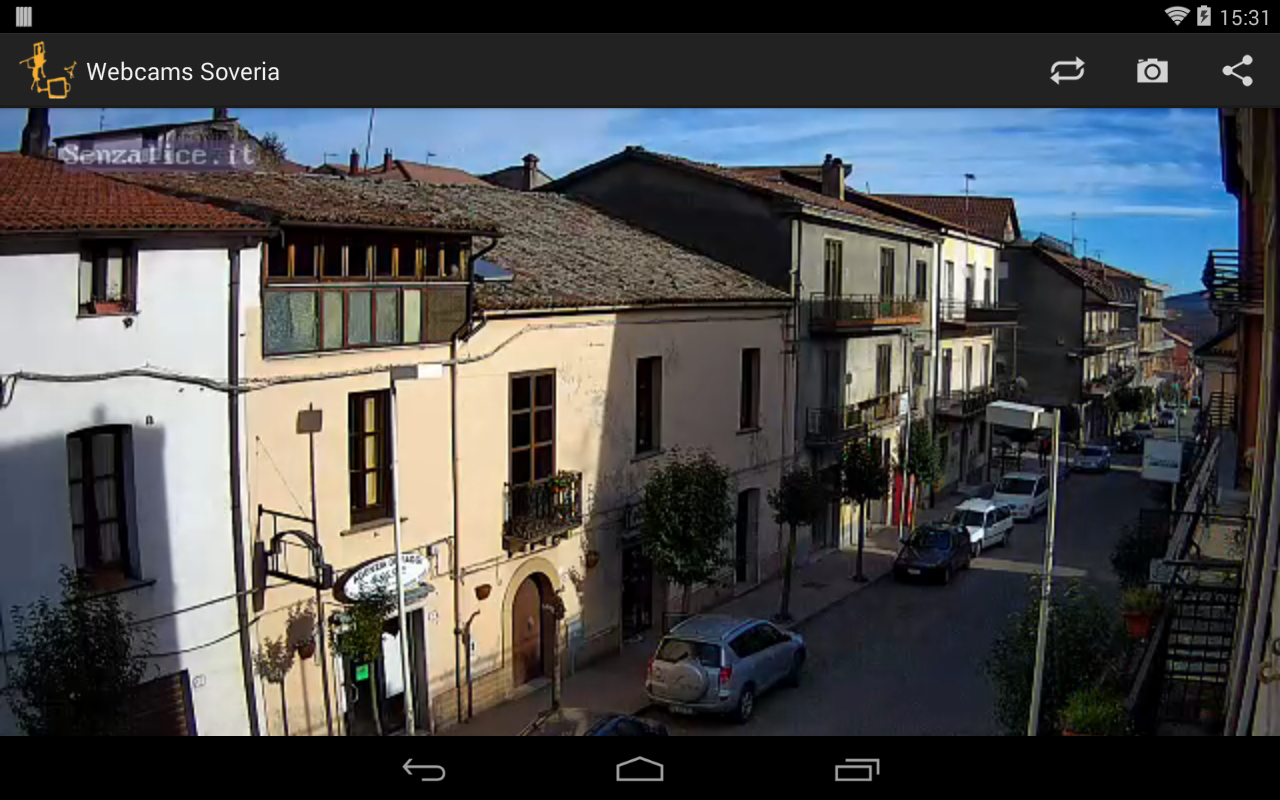 Webcams Soveria - screenshot