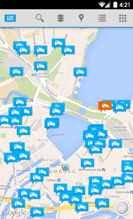 car2go - screenshot thumbnail